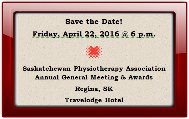 Save the Date AGM 2016
